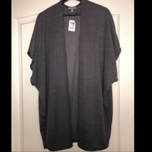 Gray Kimono Cover-Up